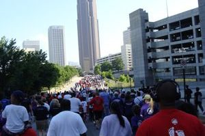 March of Dimes - crowd walking.