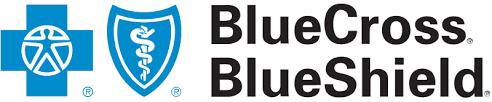 BlueCross BlueShield logo.