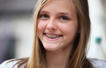 Young Teenage Girl Smiling Marietta GA